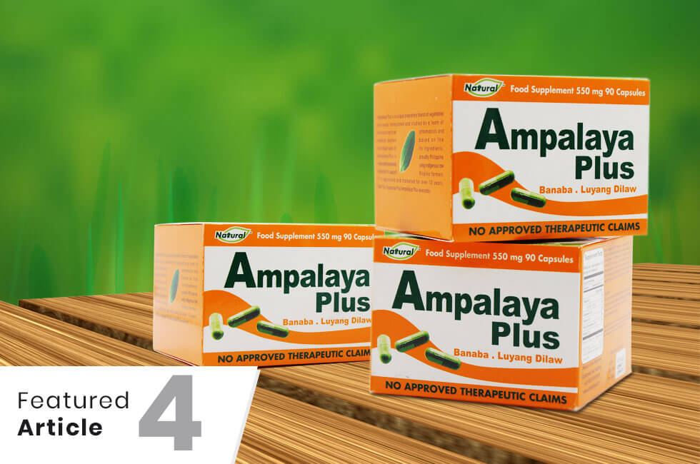 ampalaya plus ingredients